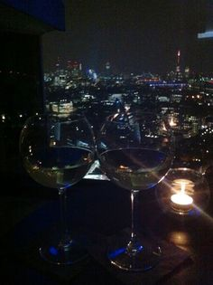 Wine with a view at Paramount Bar, Oxford Street