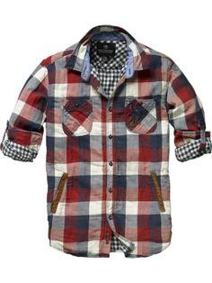Plaid shirt - Mens