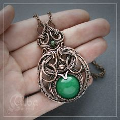 """Jade Princess"" by Alba wire art"