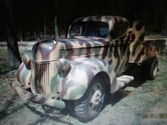 WWII German1940 Ford flatbed Truck