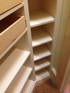 Closet Creations of Raleigh N.C. built this pantry