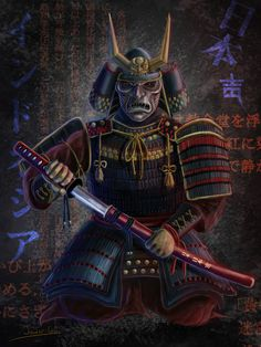 Samurai created by Javi García. You can watch the creation process visiting   https://www.youtube.com/watch?v=kAyXTq6mtiY   I hope you like it. Greetings my friends.