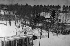 Image result for lambton mills store Snow, History, Outdoor, Image, Outdoors, Historia, History Books, History Activities, Outdoor Life