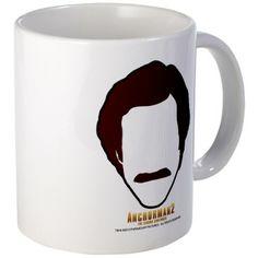 Anchorman Hair Mug