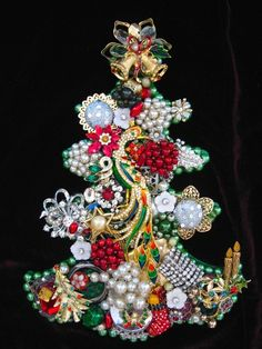 30 ideas diy jewelry tree vintage costumes for 2019 - DIY Jewelry Crafts Ideen Jewelry Frames, Jewelry Tree, Old Jewelry, Trendy Jewelry, Modern Jewelry, Jewelry Wall, Navajo Jewelry, Jewelry Stand, Jewelry Box