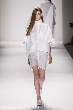Parkchoonmoo, New York Fashion Week, Spring 2013. Source: Meniscus Magazine #parkchoonmoo #nyfw