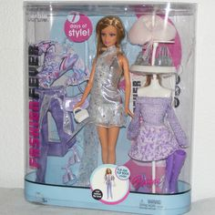 Barbie 2005 Barbie Fashion Fever 7 Days of Style | eBay