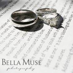 Wedding ring with vows, #wedding #details #rings #vows #bokeh © Bella Muse | www.Bella-Muse.com