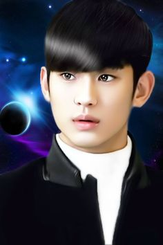 Man From The Stars fanarts - Kim Soo Hyun Korean Celebrities, Korean Actors, South Corea, Hyun Young, Boys Before Flowers, My Love From Another Star, Lee Bo Young, Kim Sohyun, Drama Funny