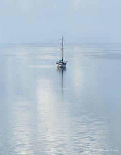 silent seascape beautiful picture