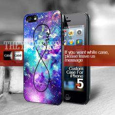 Infinity Galaxy nebula Iphone 5 Case