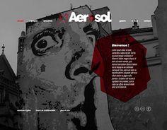 "Check out new work on my @Behance portfolio: ""Jef Aérosol - maquette de site"" http://be.net/gallery/37053879/Jef-Arosol-maquette-de-site"