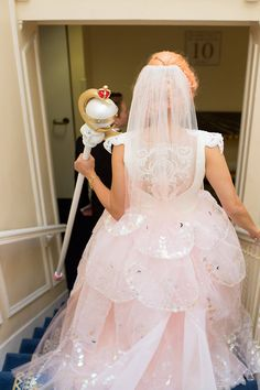 I had a nerdy Sailor Moon wedding like a fancy ass grown up and lived to tell the tale. Entire blog post including DIY tutorials and background up at Defective Geeks! IT TOOK ME ONE BILLION YEARS TO WRITE so I hope someone out there reads it haha.  http://www.defectivegeeks.com/2014/12/18/sailormoonwedding/