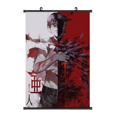 Onecos Anime Demi-human Ajin Poster Fabric Scroll Picture Cosplay *** Want additional info? Click on the image.