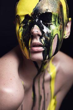 anna kubanova. Tropicana Tribes L INGRIDA GRIGALYTE BEAUTY inspirations: lips, eyes, skin, colors, face, hair, nails, makeup, skin.