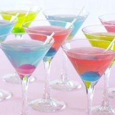 Blow pop martinis! Down.