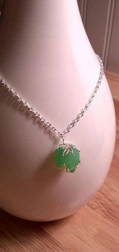 Pendant necklace by SophiaEmmeline on Etsy, $15.00.. I want this for Christmas