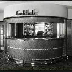 Cocktail Bar By Ralph Lamprell ca.1936