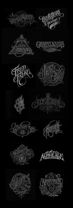 MITCHELL - LOGOS AND LOGOTYPES -  Designs that are symbolic and convey the message and tone of an entire corporate entity in one symbol/type mark.