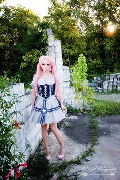 Companion Cube Lolita Photoshoot, by On The Road Photography, Featured by Geek Girls!!!!!!!!