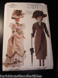 Vogue Barbie sewing pattern
