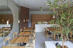 'Ito Weather' Minimalist Cafe by Japanese Studio Ninkipen! | http://www.yellowtrace.com.au/ninkipen-ito-weather/
