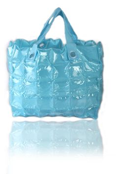 Inflatable Light Blue Tote -   Rs. 1,700.00