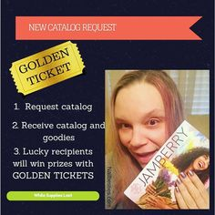 Psyched for our #newcatalog want yours?  #linkinbio #jamberrycatalog #fallstyle #goldenticket #prizestobewon
