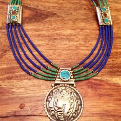 $60  To order send payment securely by PayPal to  Sales@aprilstardavis.com  Shipping to USA UK $4    #berberjewelry  #moroccanjewelry #marrakech #morocco #aprilstardavis #berbernecklace #moroccannecklace #bohojewelry #authenticmoroccanjewelry #shopsmall #fashiontjatgivesback #bohostyle #berberring #boudin #bohorings