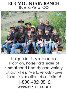 Colorado Dude Ranch: All-inclusive Vacation - Elk Mountain Ranch Ranch Vacations, All Inclusive Vacations, Things To Know, How To Memorize Things, Thing 1, South Dakota, Horseback Riding, Rafting, New Mexico