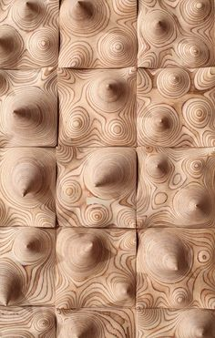 The #woodwork of sculptor Cha Jong-Rye.