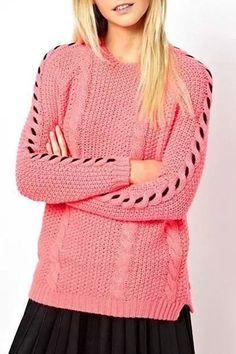 spliced furcal sweater