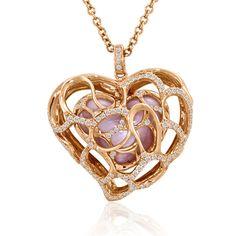 "Le Vian ""Hearts"" Necklace... wow."