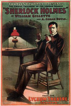 first  sh - William Gillette at the Lyceum