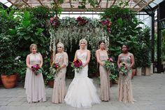 Amanda & Seth's Fall Wedding at Planterra Conservatory | Photography by: Kellie Saunders
