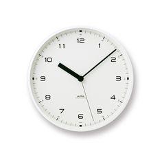 「TAKATA Lemnos online shop」で取り扱う商品「Urban clock / ホワイト (LC10-03 WH)」の紹介・購入ページ