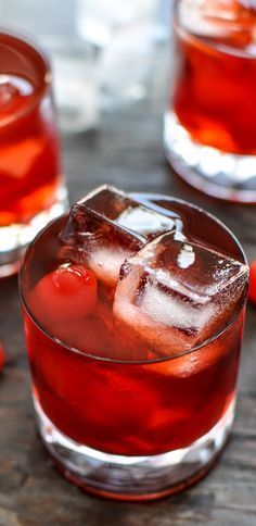 Cherry Whiskey Smash What you need: - 1 ounce jack daniels - 1 ounce cherry juice - 1/2 ounce amaretto - 1/2 ounce ginger brandy - 2 ounces cherry cola - 5 maraschino cherries (Serves one, is easily multiplied)