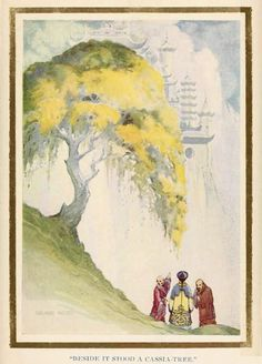 The Lady of the Moon - a Chinese fairy tale