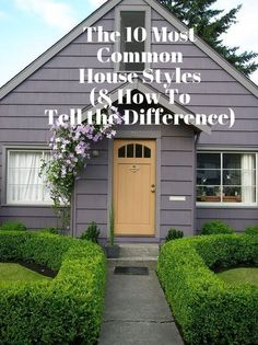 The 10 Most Common House Styles (  How To Tell the Difference) — The f62cef44f849