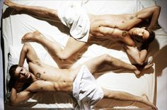 Jared and Jensen..I dont know why they are in bed together naked, but I will take it!!