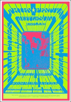 Trips Festival Concert Poster @ vis r