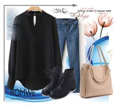 """""""ROMWE 1"""" by aida-1999 ❤ liked on Polyvore"""