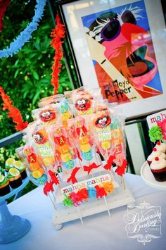 Rainbow /Muppets Birthday Party Ideas | Photo 1 of 45