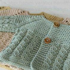 knitting for beginners left handed knitting patterns app knitting patterns variegated yarn Baby Cardigan Knitting Pattern, Knitted Baby Cardigan, Knit Baby Sweaters, Knitted Baby Clothes, Baby Knitting Patterns, Baby Patterns, Cable Cardigan, Knitting Sweaters, Knitting For Kids