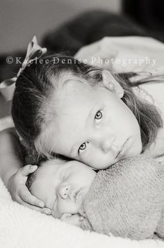 Maybe I can get Colin to pose with baby sister?