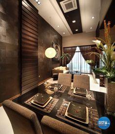 Modern, Resort Design - Dining Room - Condominium - Design by Vegas Interior Design Pte Ltd