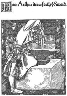 """Howard Pyle from """"the Story of King Arthur and His Knights."""" (1903)"""