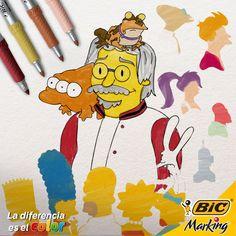 Por llenar nuestra vida de alegría en forma de fichas y de humor, te deseamos un muy feliz cumpleaños, Matt Groening. #LaDiferenciaEsElColor