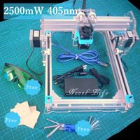 Benbox 445nm 2500mW 2.5W DIY Desktop Mini Laser Engraver Engraving Machine Laser Cutter Etcher CNC Picture Logo Printer 17X22cm