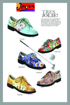 LADIES GOLF FASHION   ICON  Interested in hosting an ICON Trunk Show at your Country Club? contact: marla@iconshoes.com